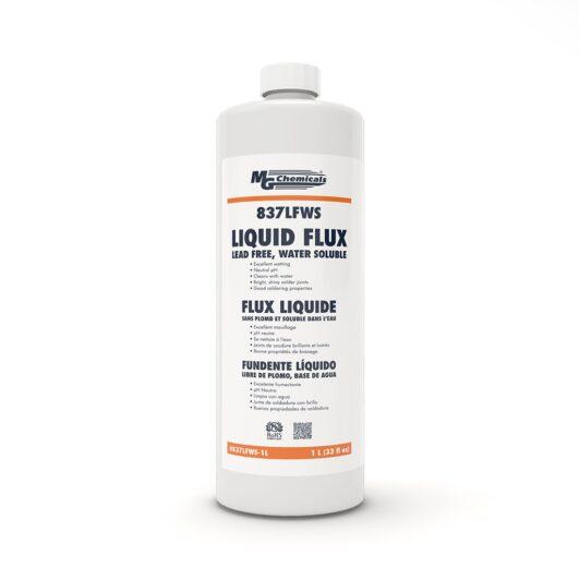 837LFWS - Lead Free, Water Soluble Flux