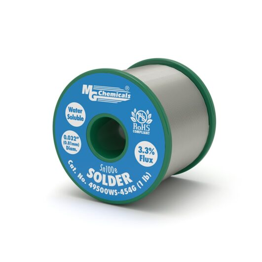 49500WS - Sn100e Water Soluble Solder Wire